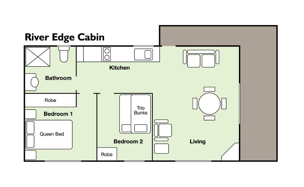 riveredge cabin